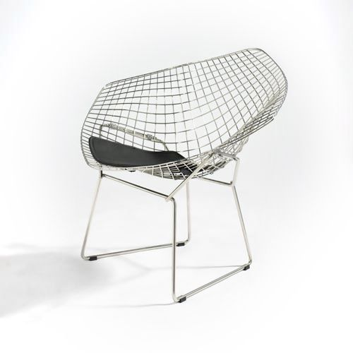 Poltrona diamond design harry bertoia - Poltrone famose design ...