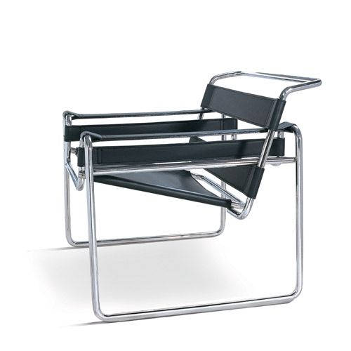 stuhl wassily marcel breuer. Black Bedroom Furniture Sets. Home Design Ideas